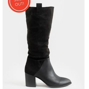 Report Toffer Boots - Size 7.5 - Black